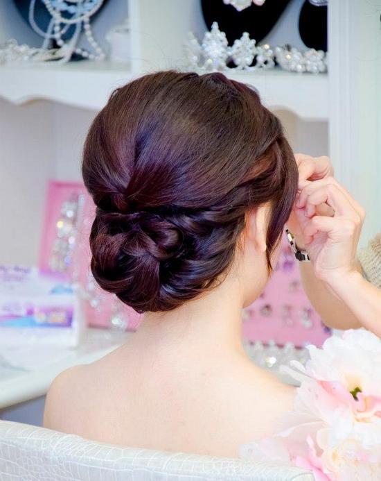 婚禮髮型教學影片