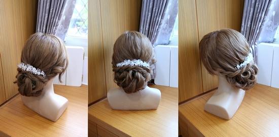 韓式新娘髮型 編髮教學