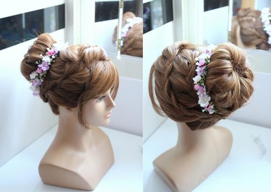 甜美髮型教學高包包頭/丸子頭
