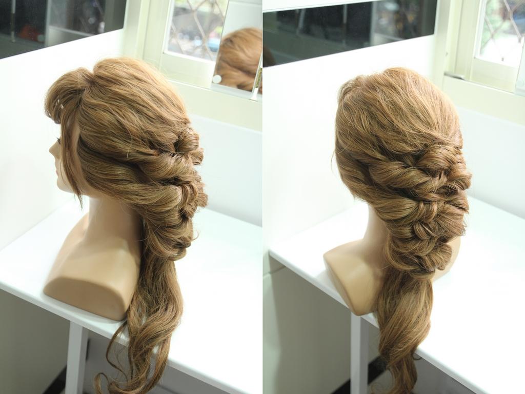 髮型 diy