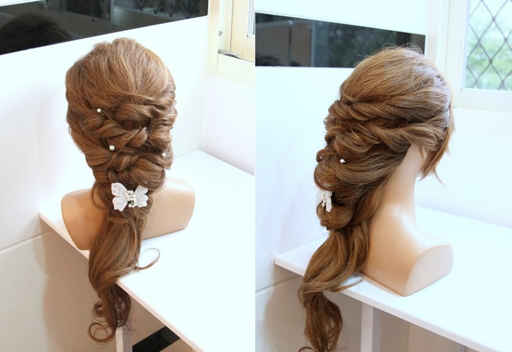 橡皮筋綁頭髮