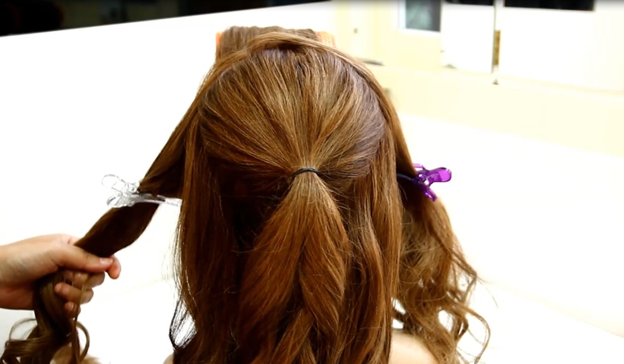 The Japanese-style fluffy hair tutorial01