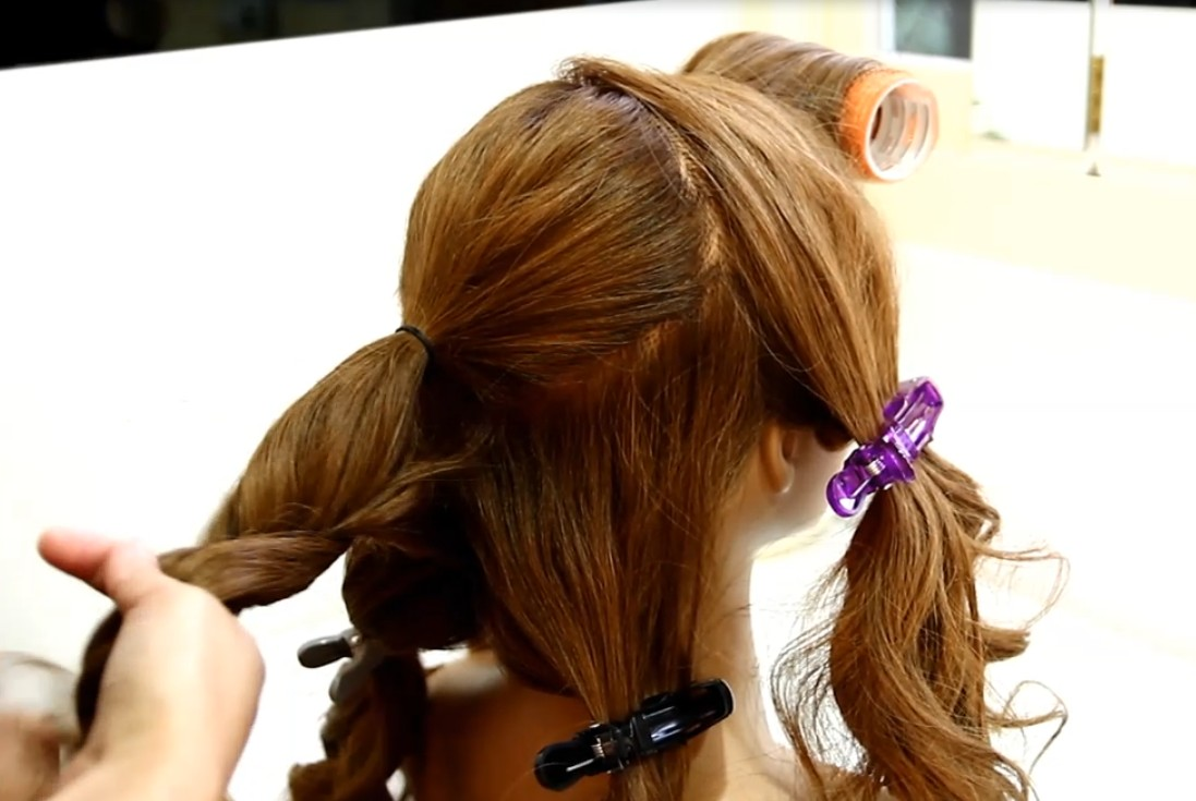 The Japanese-style fluffy hair tutorial02
