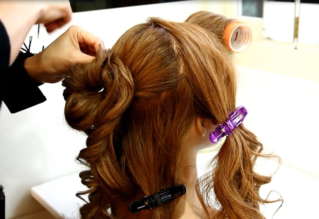The Japanese-style fluffy hair tutorial03