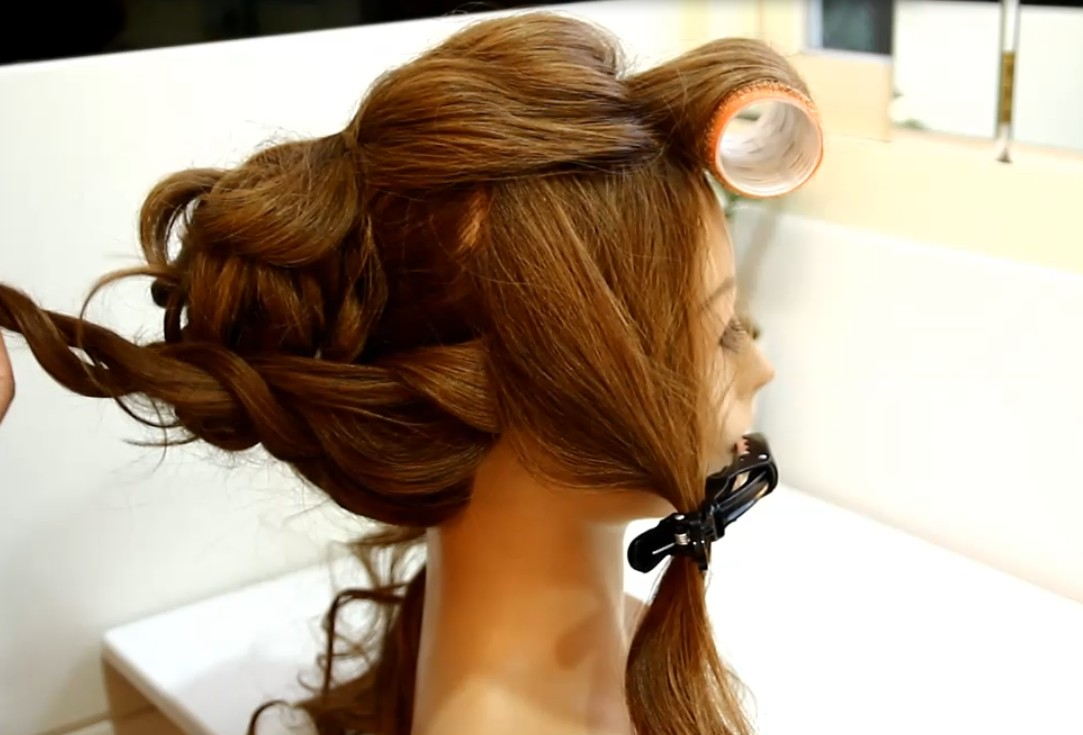 The Japanese-style fluffy hair tutorial06