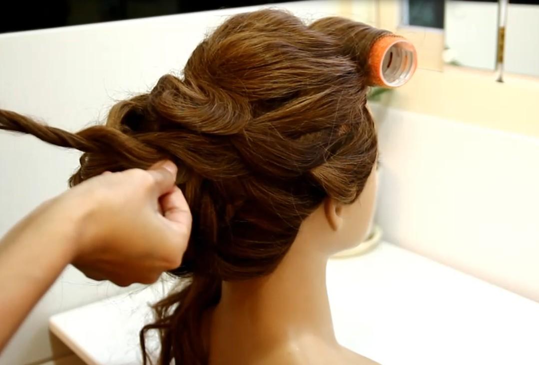 The Japanese-style fluffy hair tutorial07