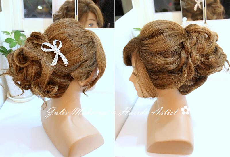 日系包頭髮型教學
