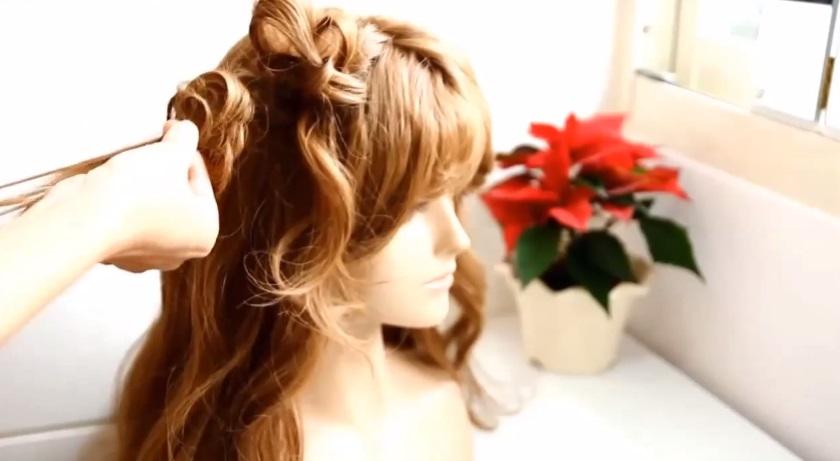 小朋友綁頭髮造型教學