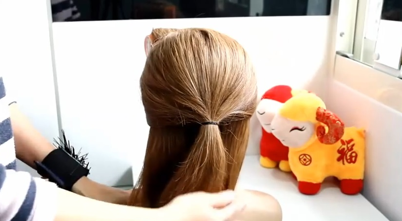 簡單編髮 diy