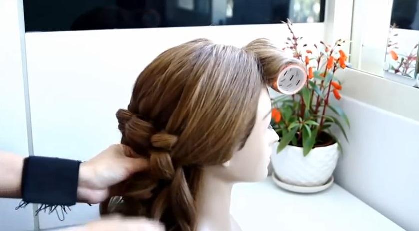 新娘髮型diy