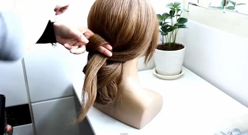韓式低髮髻