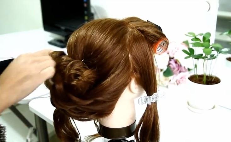 新娘髮型教學