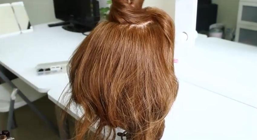 長髮變短髮