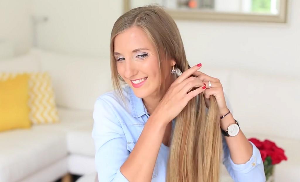 歐美風格編髮教學影片Luxy Hair04