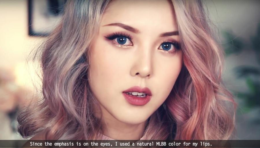 戀愛般的好氣色 桃花妝影片教學頻道 PONY Makeup02