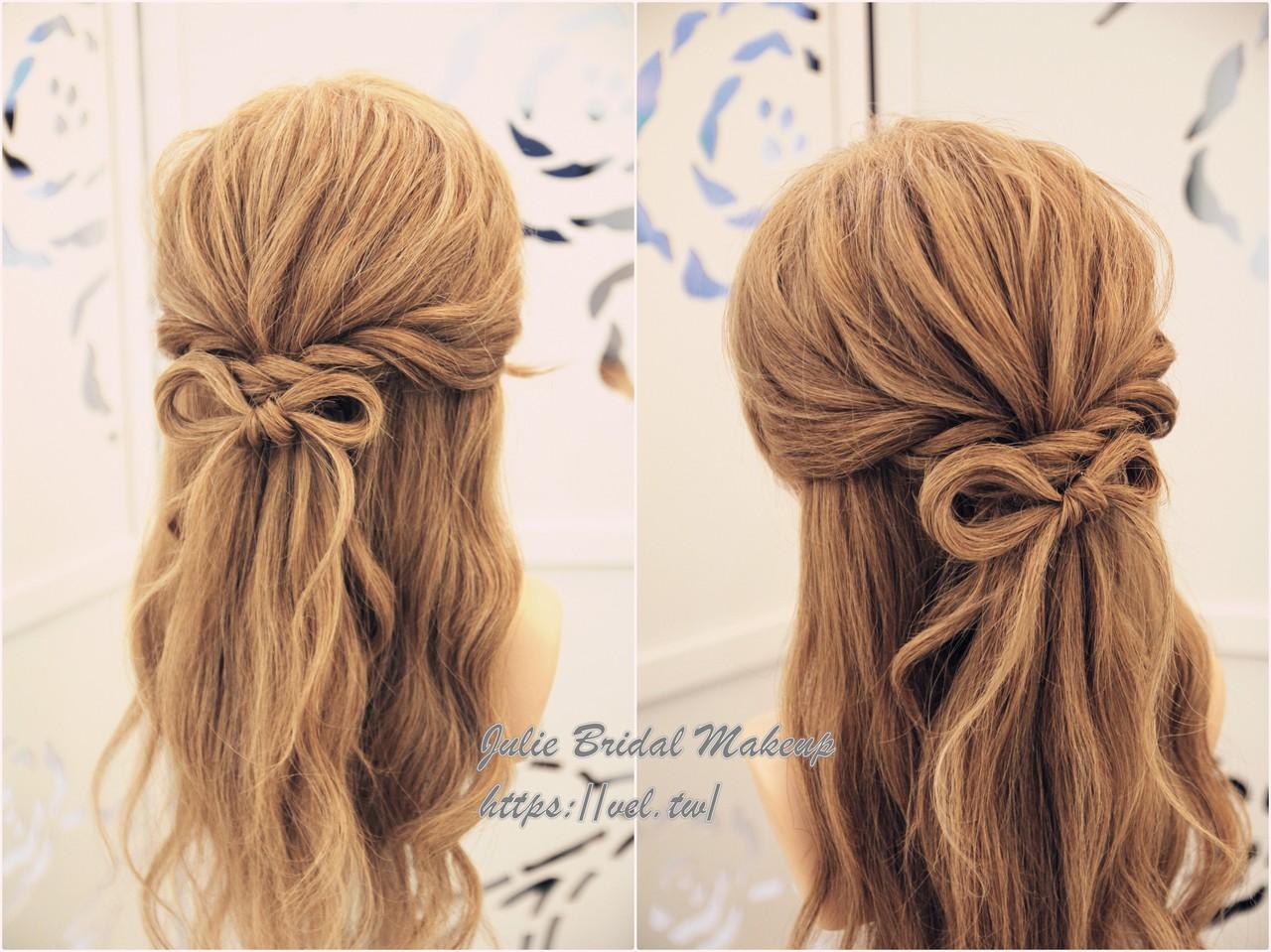 簡單編髮教學