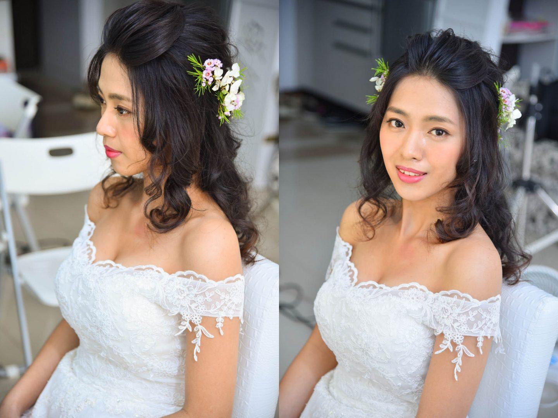 新娘鮮花造型 心妮