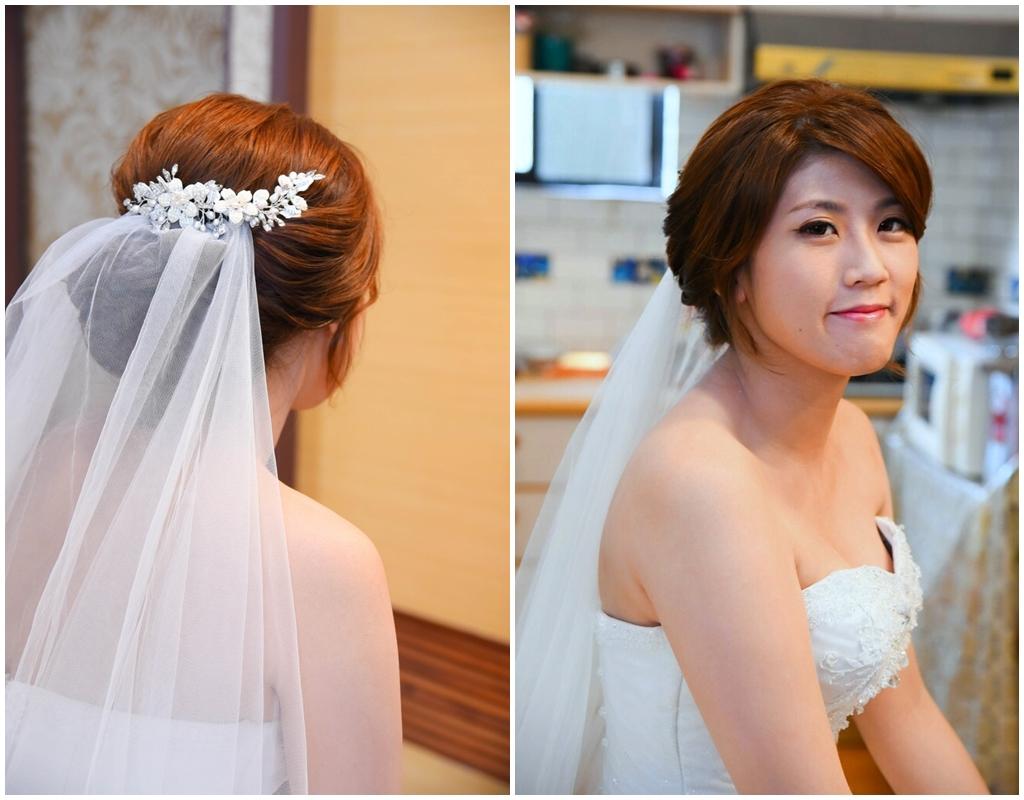 新娘造型結婚宴客
