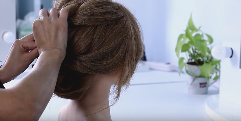 盤髮|新娘造型