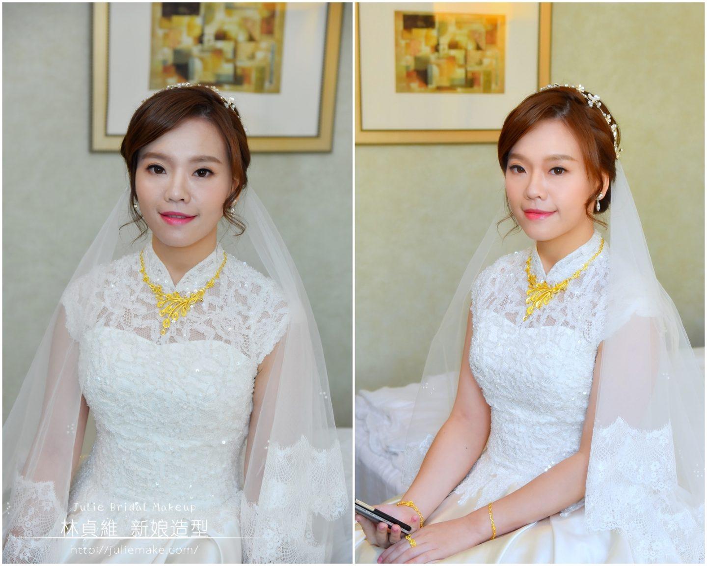 白紗造型∣迎娶造型