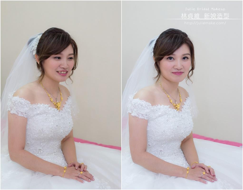 編髮盤髮新娘造型