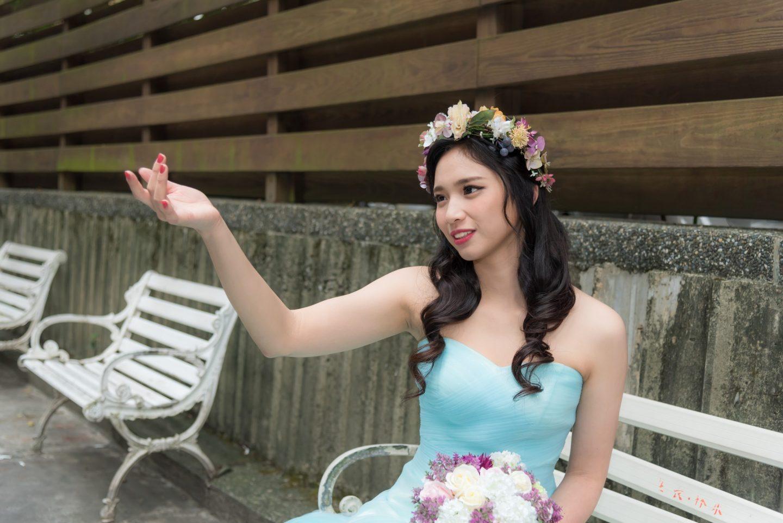 新娘髮型造型 念心