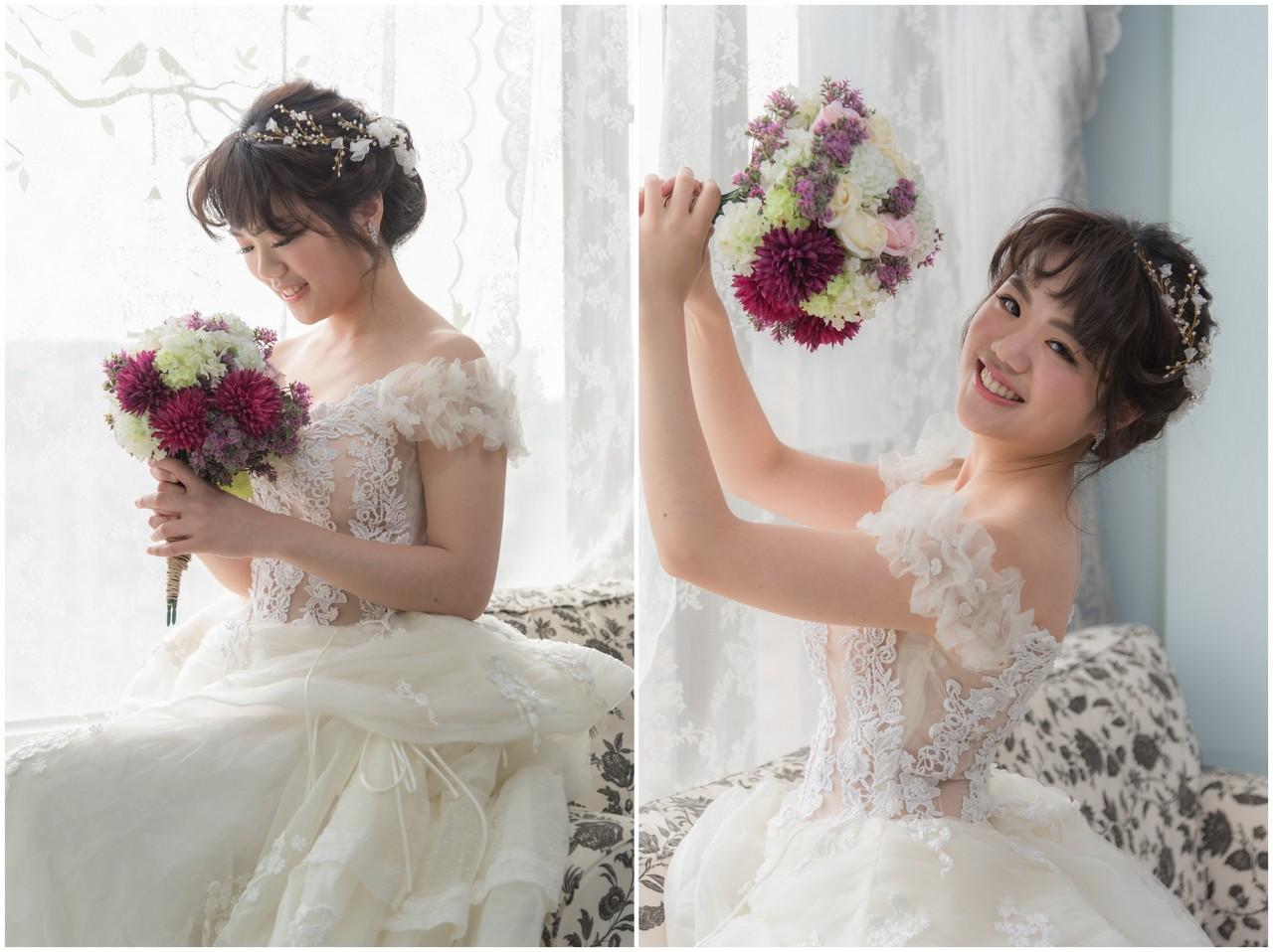新娘造型 芝萱