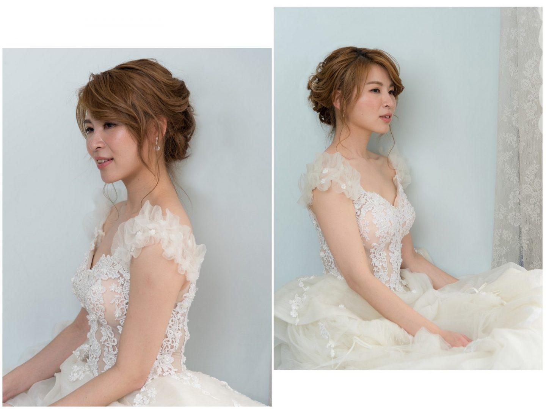 新娘造型髮型