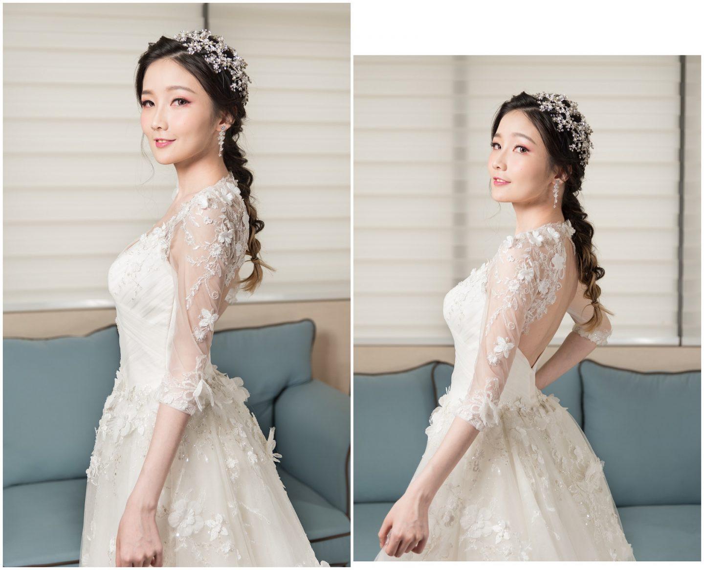 甜美公主式編髮 乾燥玫瑰妝