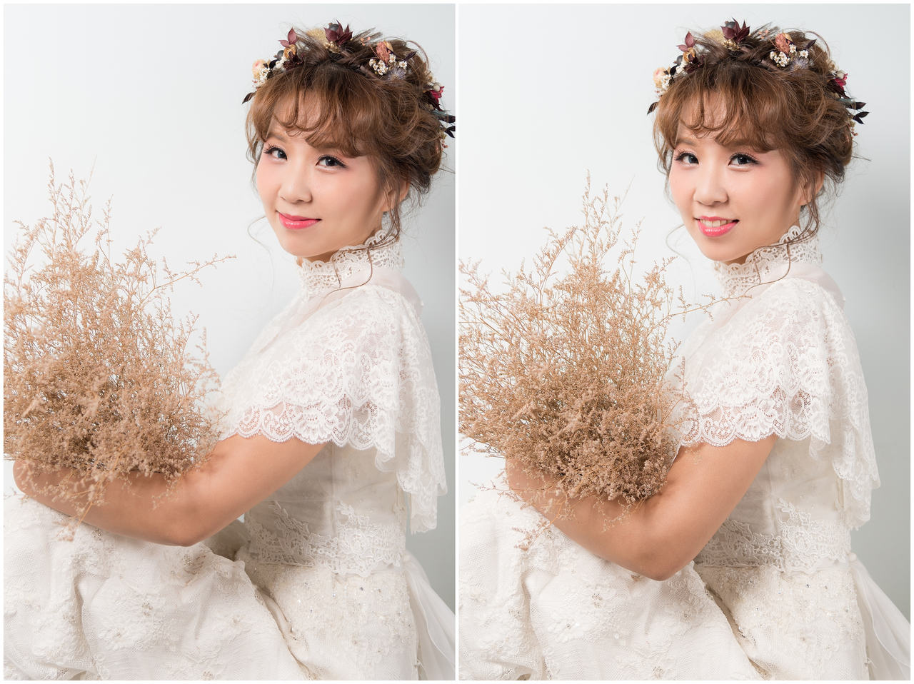白紗進場造型 新娘造型推薦整理