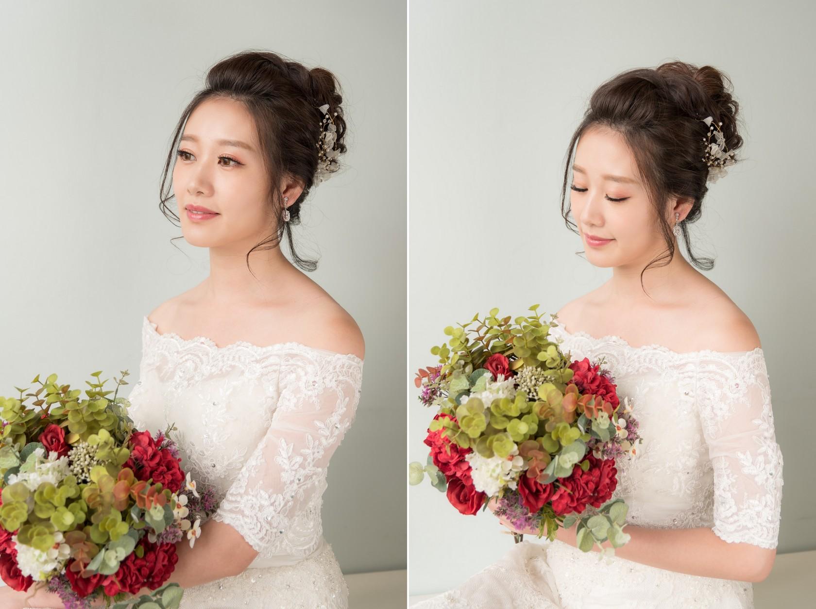 新娘造型2017 唯美風格髮型 朵朵