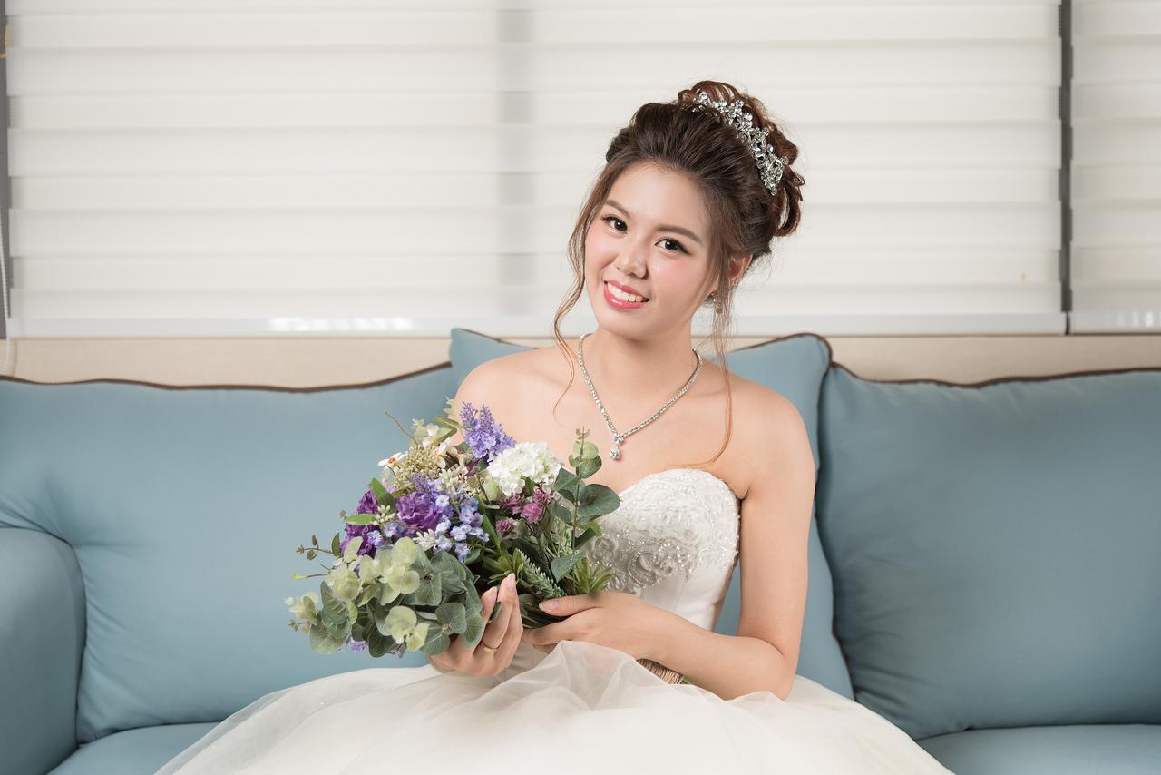 新娘髮型三日課程教學 美英作品集