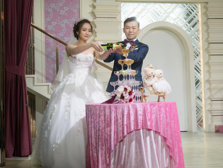 新娘秘書宴會造型側拍 薈之