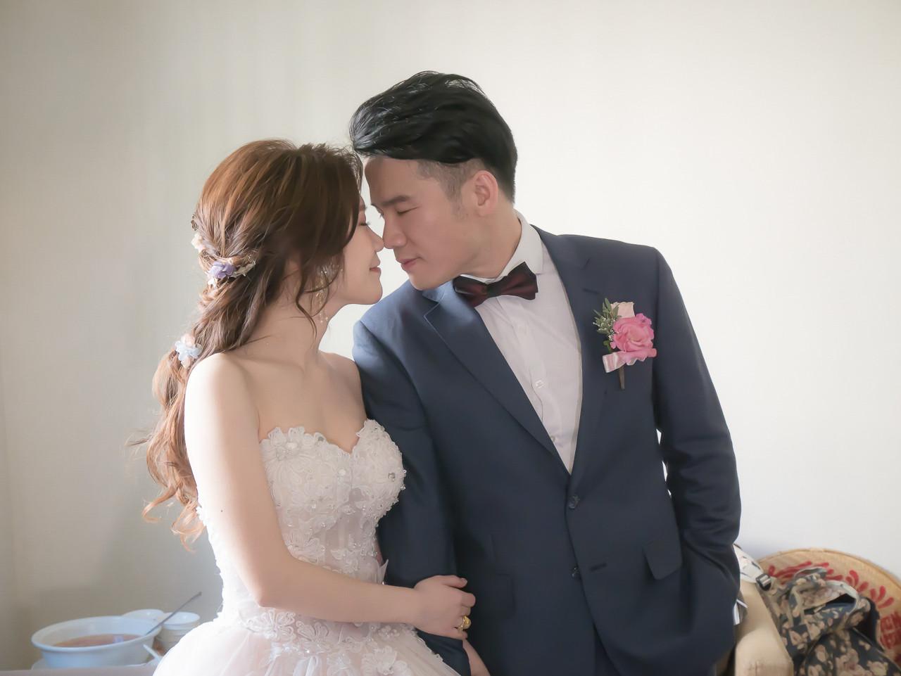 新娘宴會髮型 白紗造型 惠文