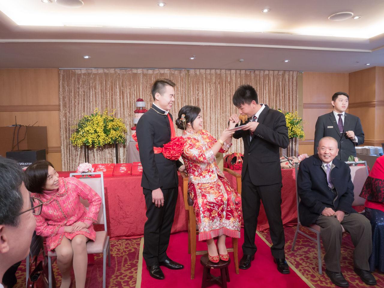 龍鳳掛造型 新娘秘書髮型 育媗