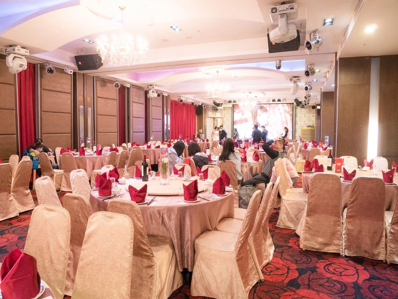新娘造型紀錄 新莊晶華亭宴會廳
