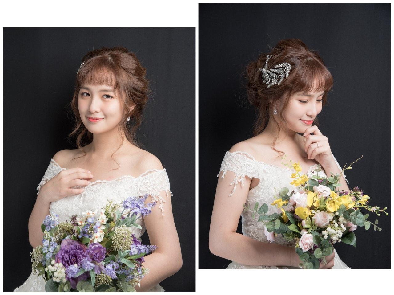 新娘造型2018 讓你目不轉睛的白紗造型