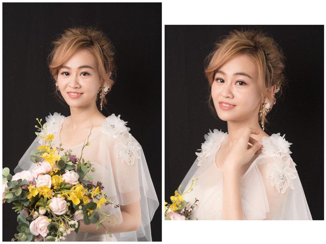 新娘秘書基礎班 學生作品集 麻豆瑜茜