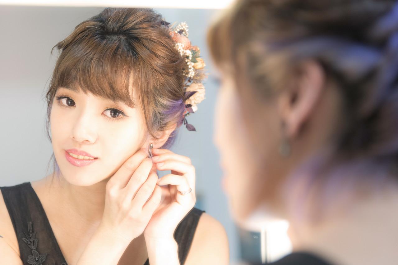 單人婚紗彩妝攝影筱樂 中和新娘秘書Julie