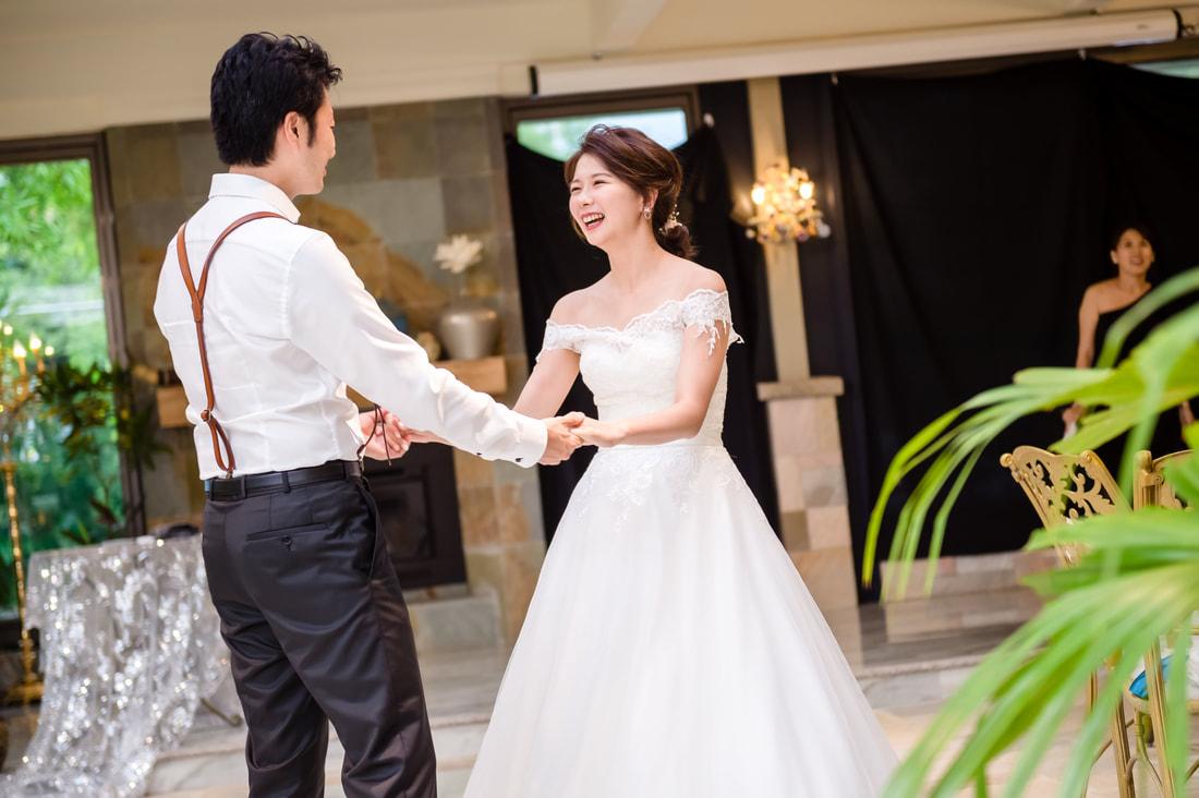 白紗禮服造型推薦 俏皮可人馬尾風格