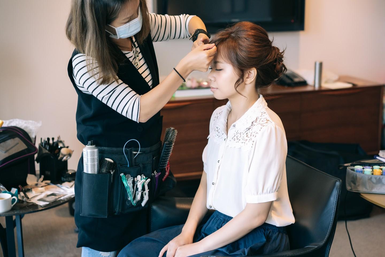 新娘髮型設計 打造專屬於妳的美好妝感 婚禮樣子