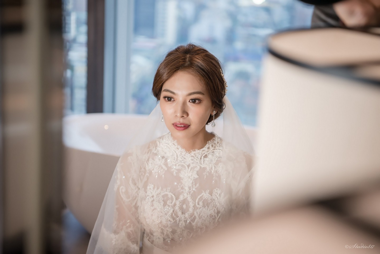 新娘訂結同天髮型編髮 優雅氣質造型 TORI