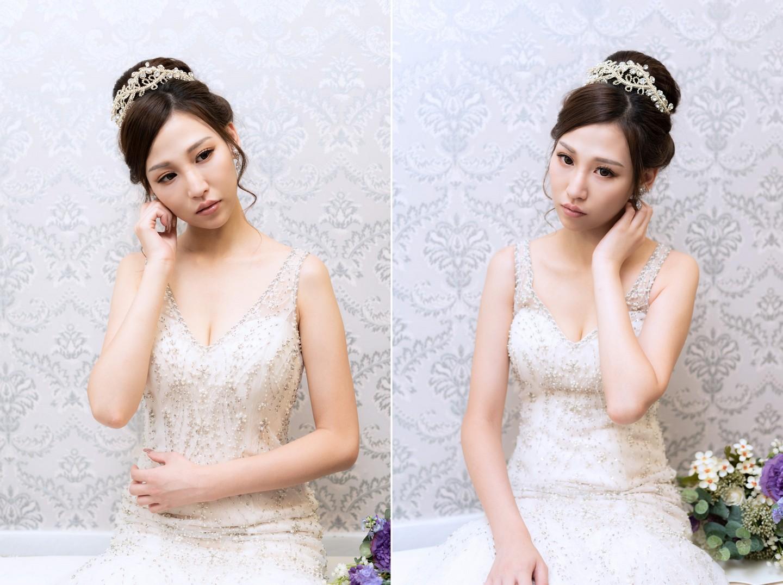 新娘秘書課程 彩妝髮型基礎班畢業作品