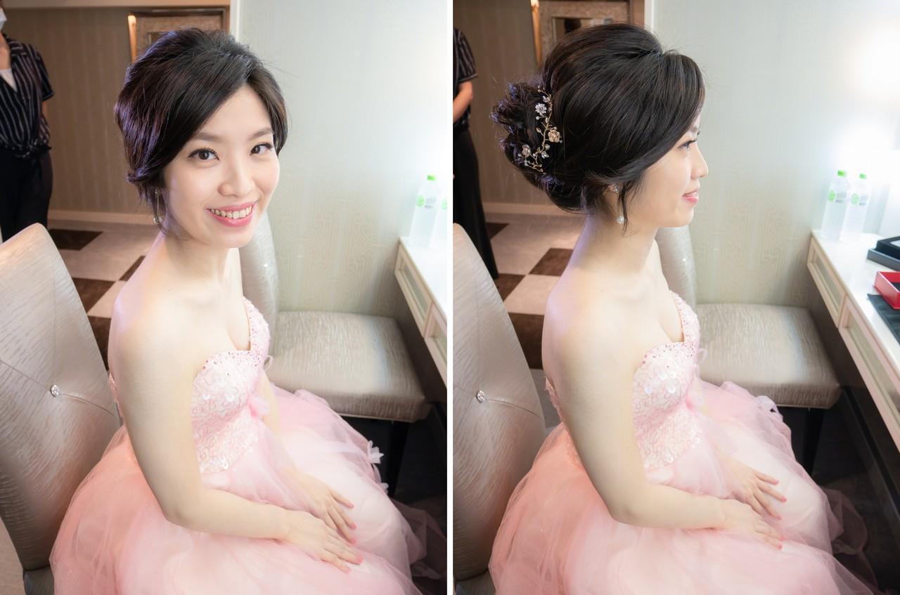 新娘造型編髮 夢想中的婚禮樣子 清新亮麗純真的自我
