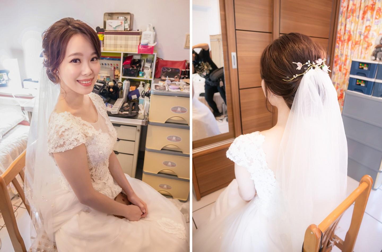 新娘秘書推薦 自然甜美無違和 幸福婚禮樣子