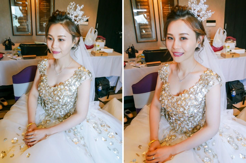 新娘髮型造型 綻放你甜蜜美好的氣質 中和新娘秘書