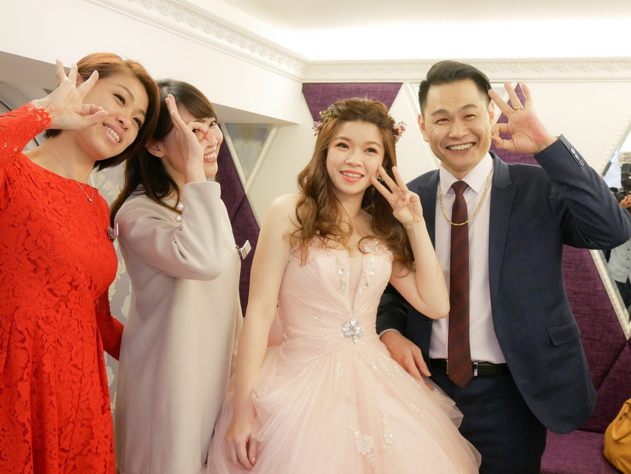 婚禮造型髮型紀錄 五股泰山新娘秘書推薦