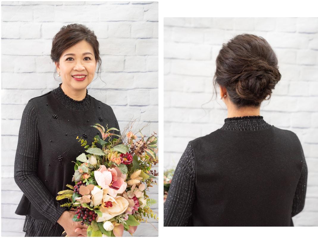媽媽妝髮教學 學生作品集攝影紀錄