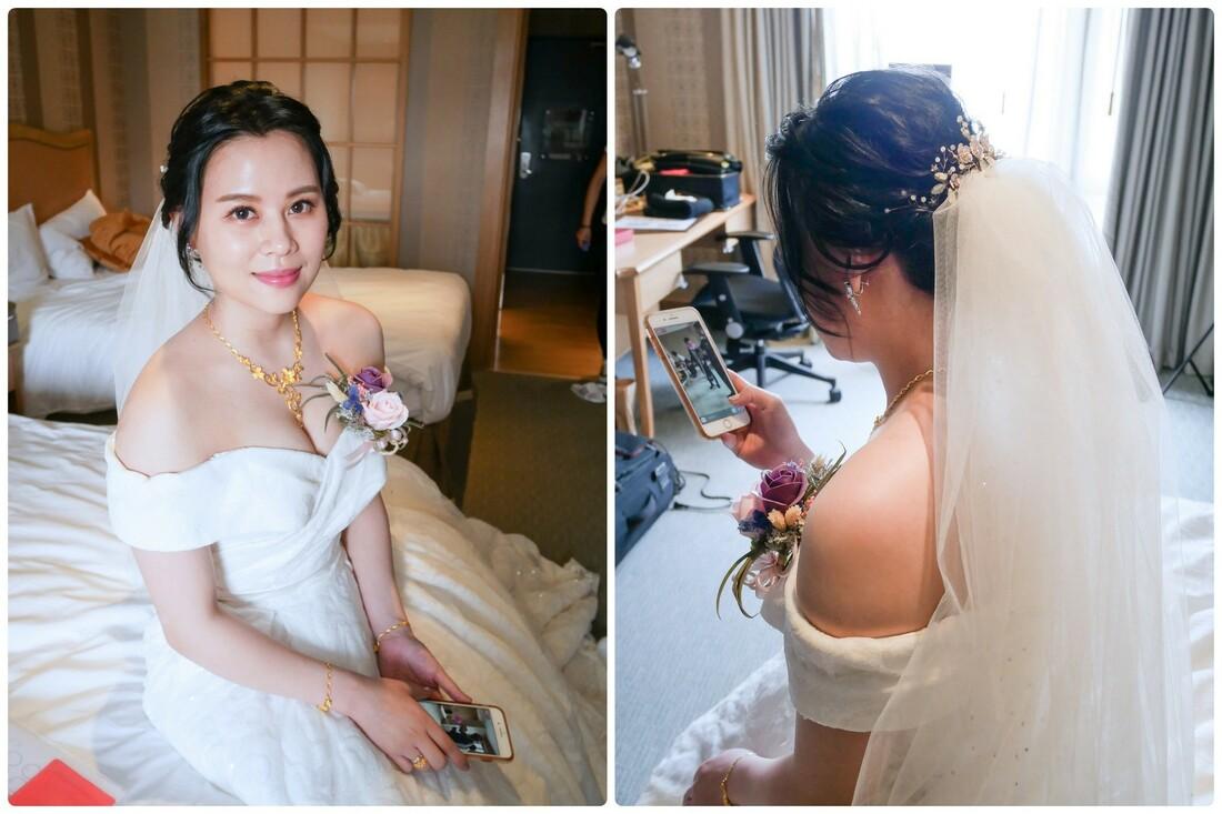 新莊新娘秘書推薦 午宴三造型 清透裸妝