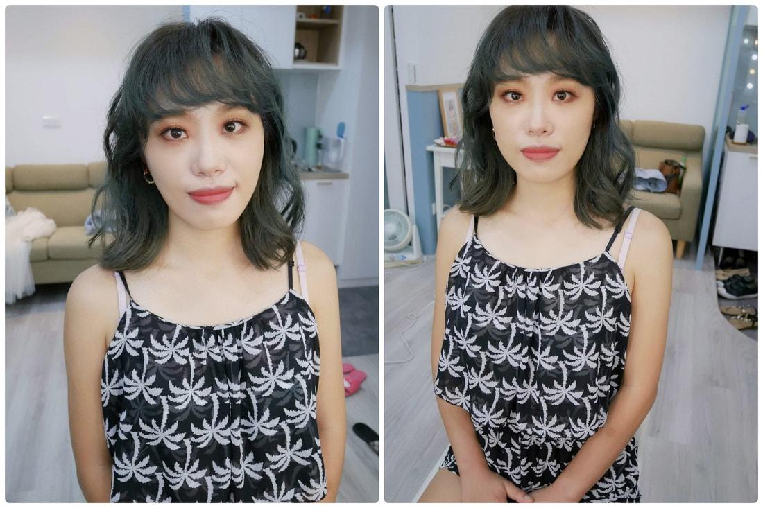 中和素人改造 彩妝髮型造型設計 Arya